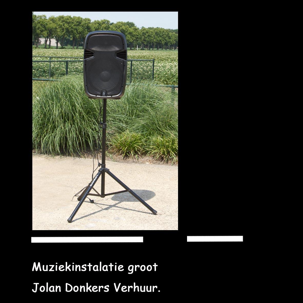 geluidsinstallaties